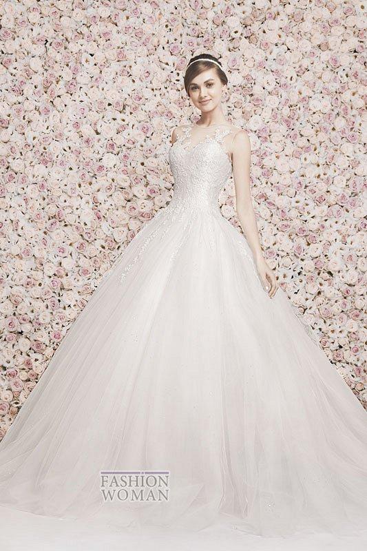Свадебные платья Georges Hobeika 2014 фото №14