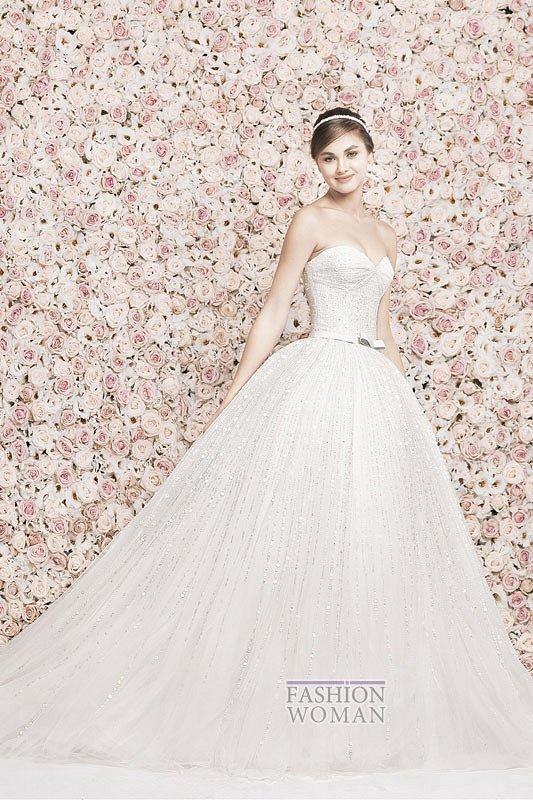Свадебные платья Georges Hobeika 2014 фото №17