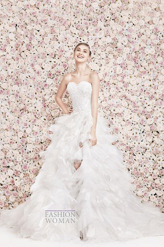 Свадебные платья Georges Hobeika 2014 фото №19