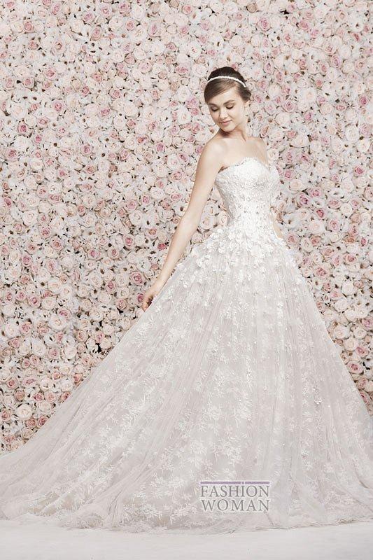 Свадебные платья Georges Hobeika 2014 фото №20