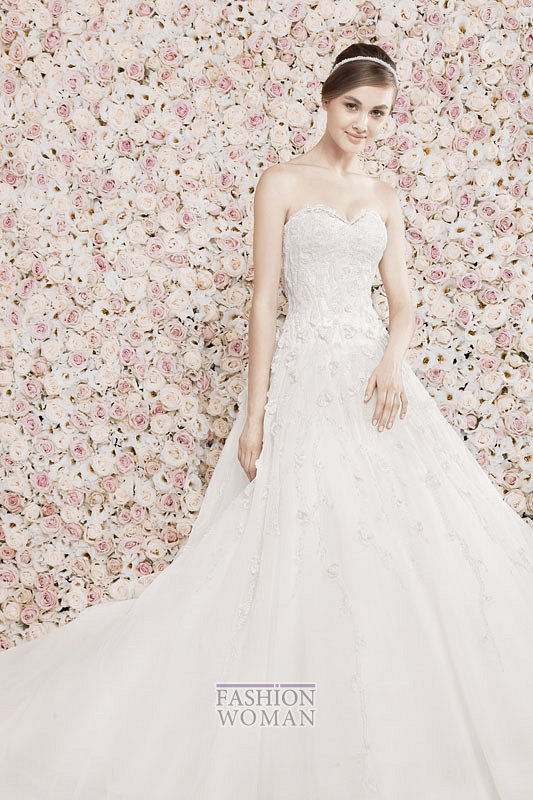 Свадебные платья Georges Hobeika 2014 фото №21