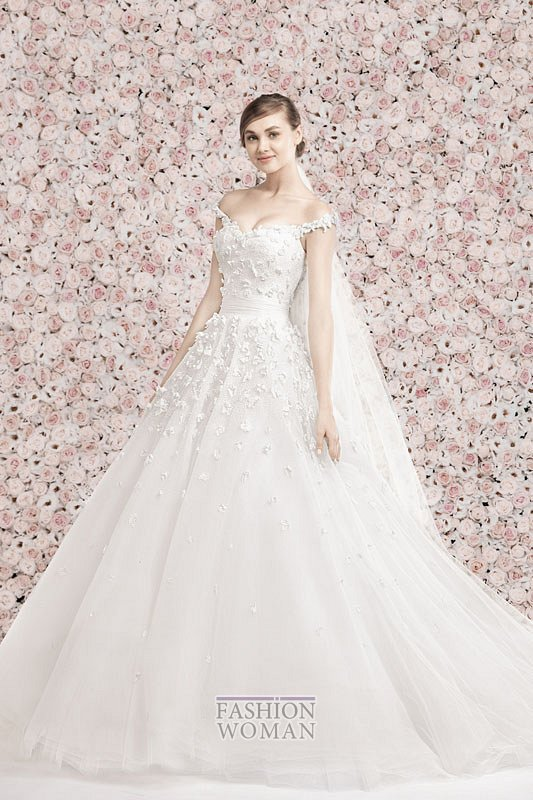 Свадебные платья Georges Hobeika 2014 фото №26