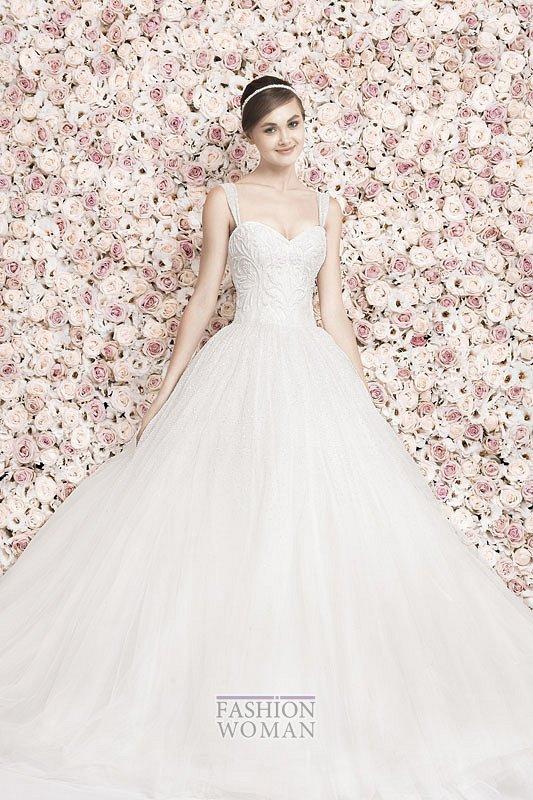 Свадебные платья Georges Hobeika 2014 фото №27