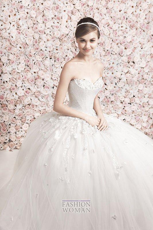Свадебные платья Georges Hobeika 2014 фото №7