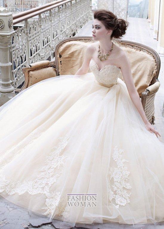 Свадебные платья Lazaro осень-зима 2012-2013 фото №1