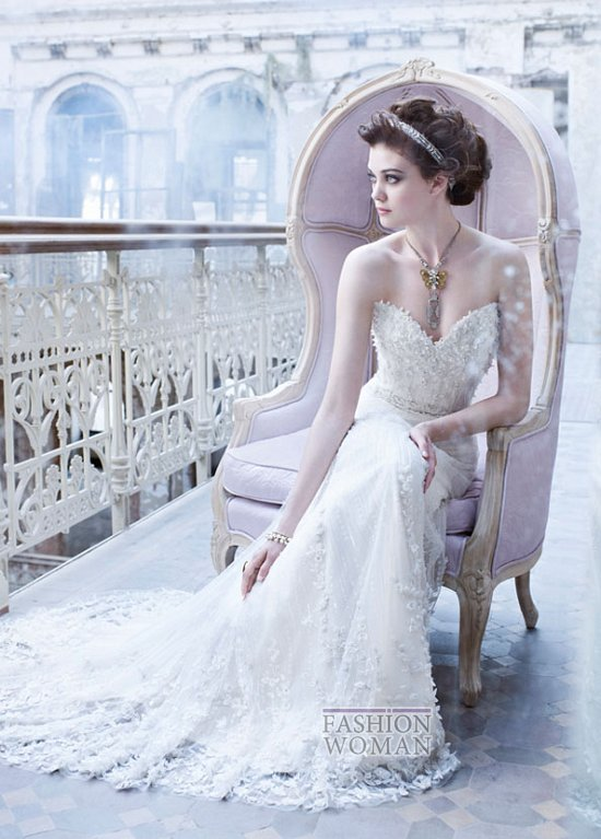Свадебные платья Lazaro осень-зима 2012-2013 фото №4