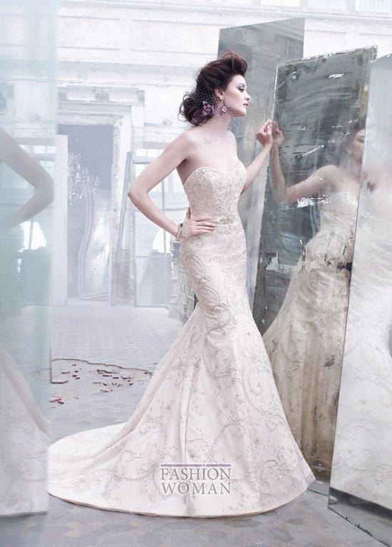 Свадебные платья Lazaro осень-зима 2012-2013 фото №5
