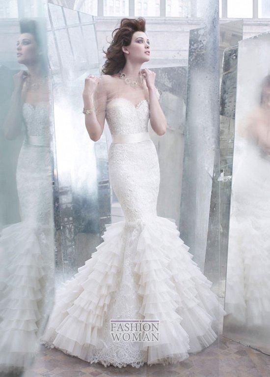 Свадебные платья Lazaro осень-зима 2012-2013 фото №7