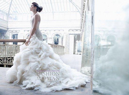 Свадебные платья Lazaro осень-зима 2012-2013 фото №8