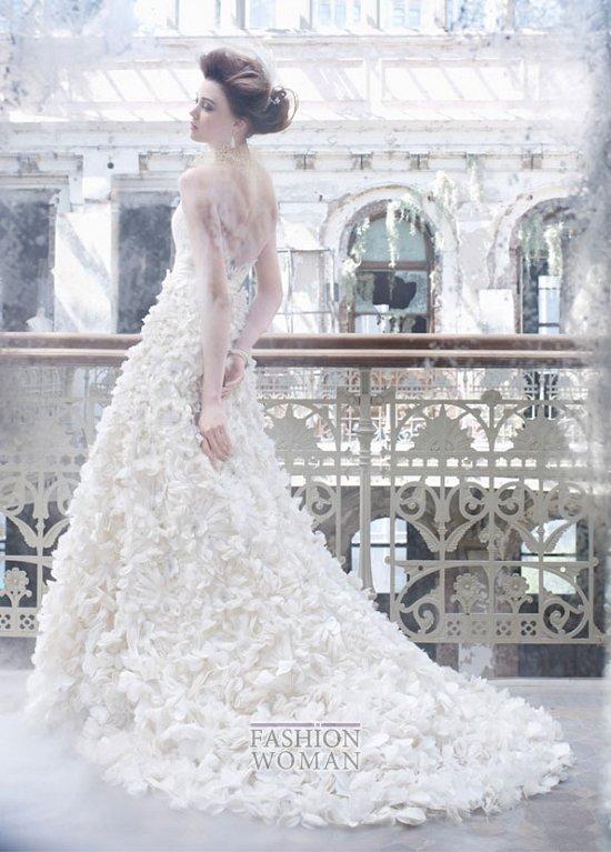 Свадебные платья Lazaro осень-зима 2012-2013 фото №9