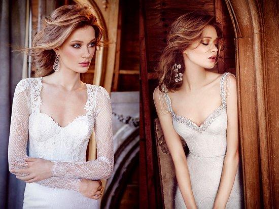 Свадебные платья Lazaro осень-зима 2015-2016 фото №12