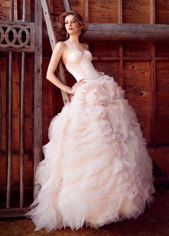 Свадебные платья Lazaro осень-зима 2015-2016 фото №2