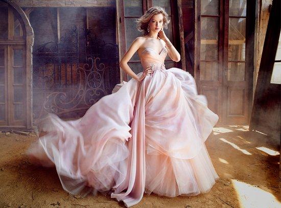 Свадебные платья Lazaro осень-зима 2015-2016 фото №8