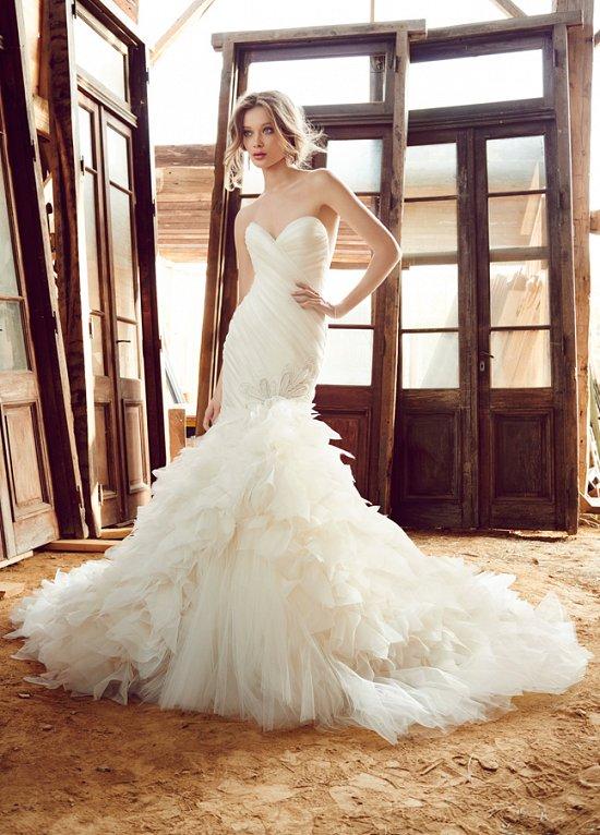 Свадебные платья Lazaro осень-зима 2015-2016 фото №9