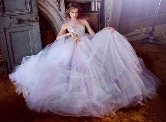 Свадебные платья Lazaro осень-зима 2015-2016 фото №11