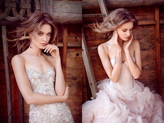Свадебные платья Lazaro осень-зима 2015-2016 фото №13