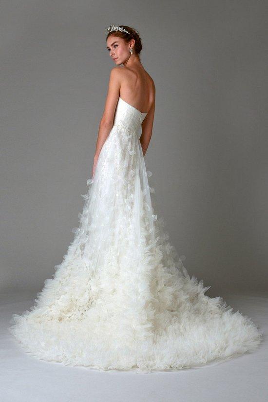 Свадебные платья Marchesa осень-зима 2016-2017 фото №27