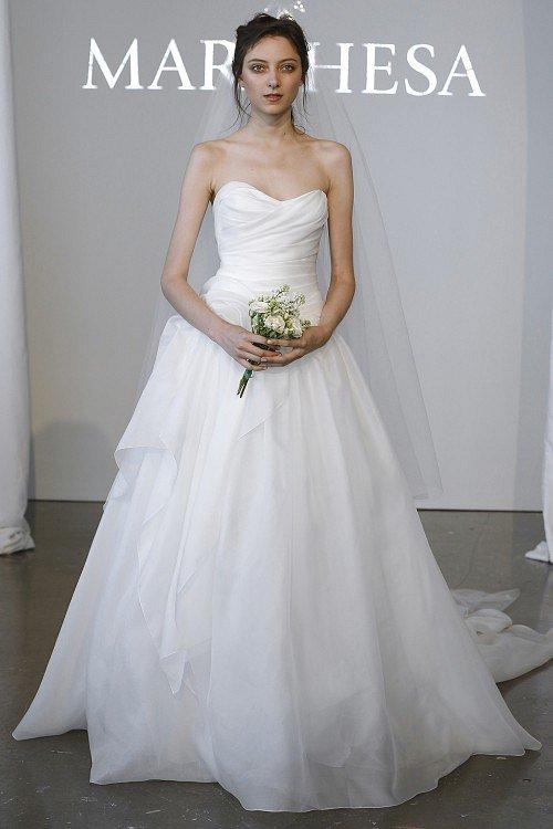 Свадебные платья Marchesa фото