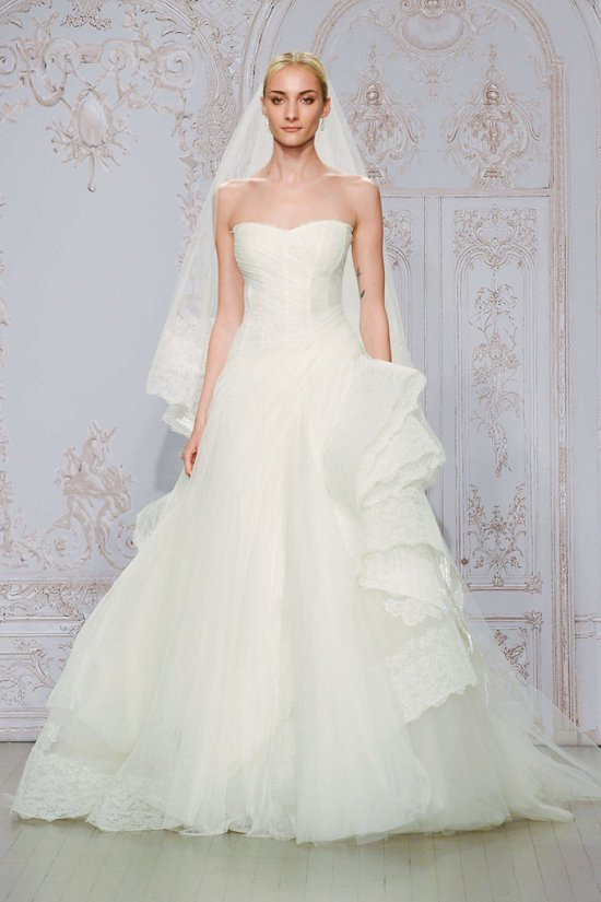Свадебные платья Monique Lhuillier осень-зима 2015-2016 фото №1