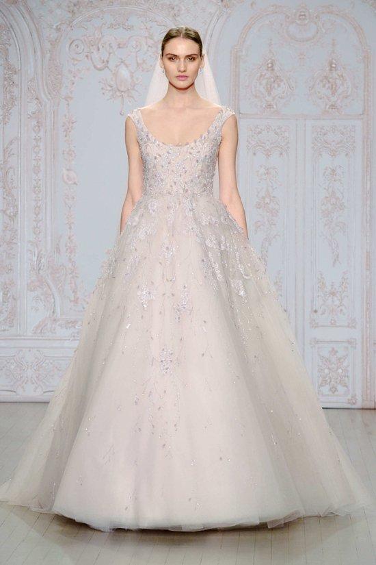 Свадебные платья Monique Lhuillier осень-зима 2015-2016 фото №12