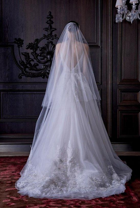 Свадебные платья Monique Lhuillier весна 2016 фото №2