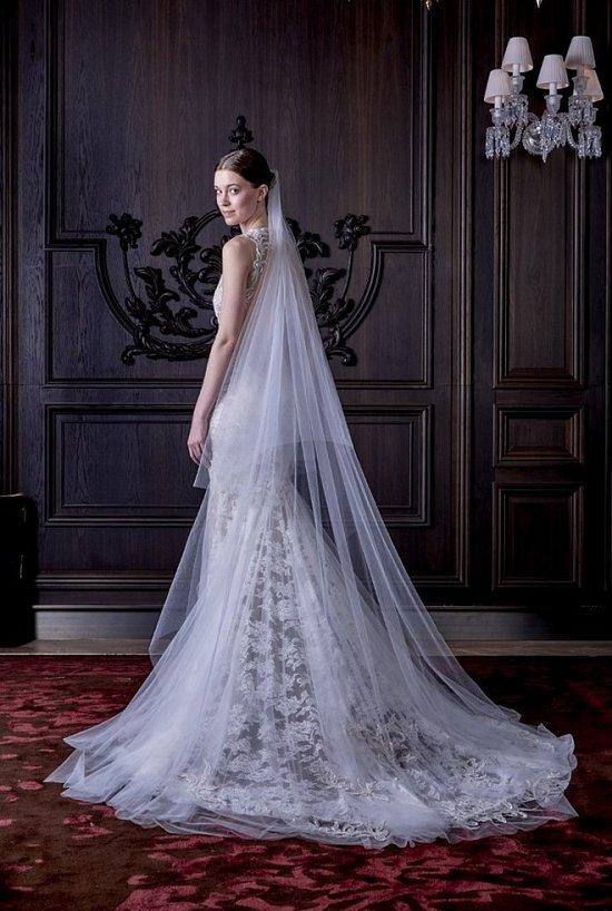 Свадебные платья Monique Lhuillier весна 2016 фото №4