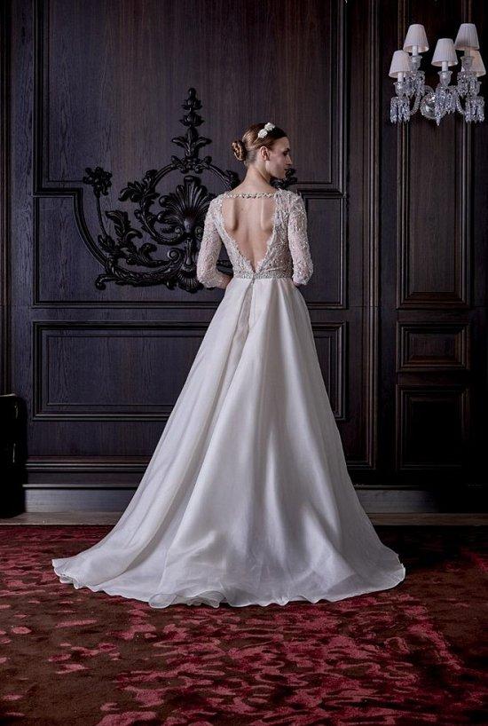 Свадебные платья Monique Lhuillier весна 2016 фото №6