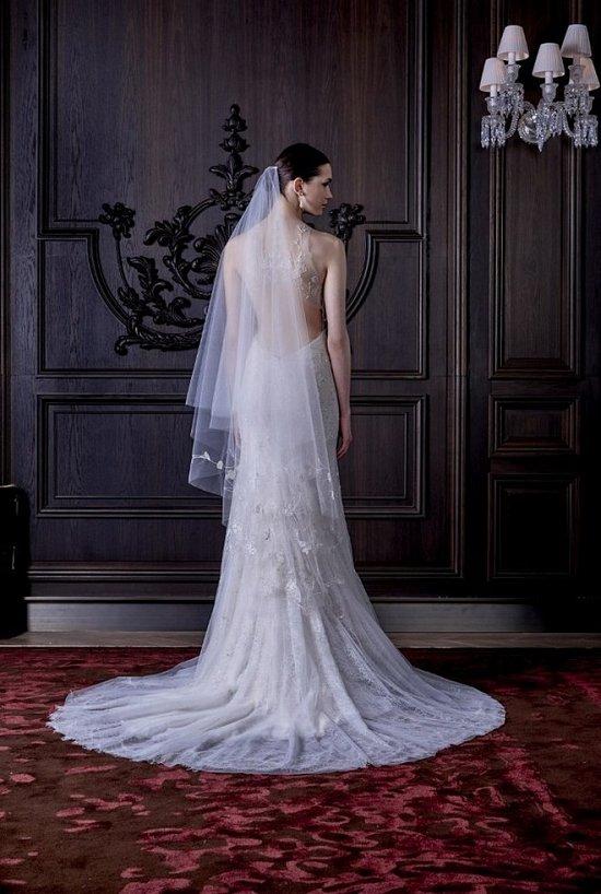 Свадебные платья Monique Lhuillier весна 2016 фото №8