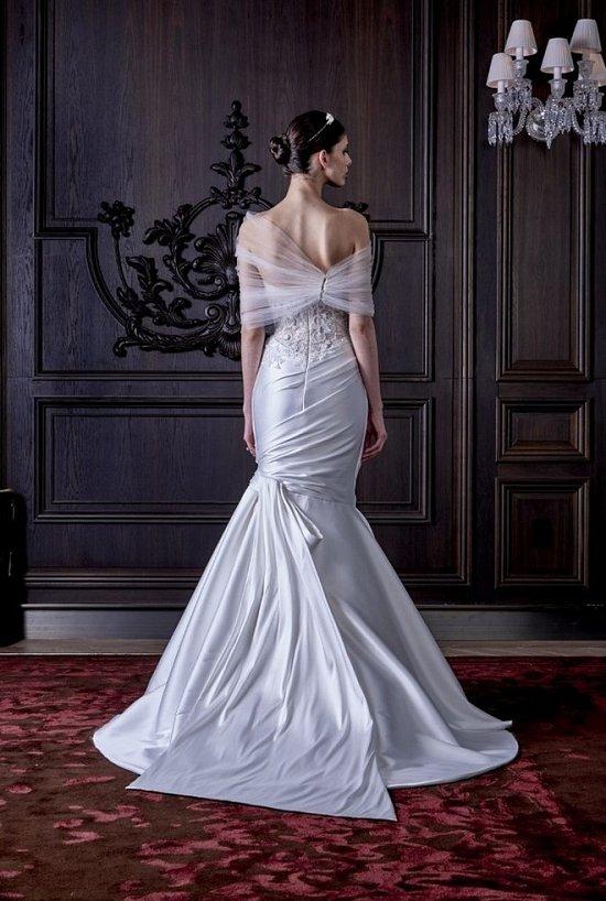 Свадебные платья Monique Lhuillier весна 2016 фото №10