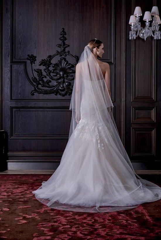 Свадебные платья Monique Lhuillier весна 2016 фото №16