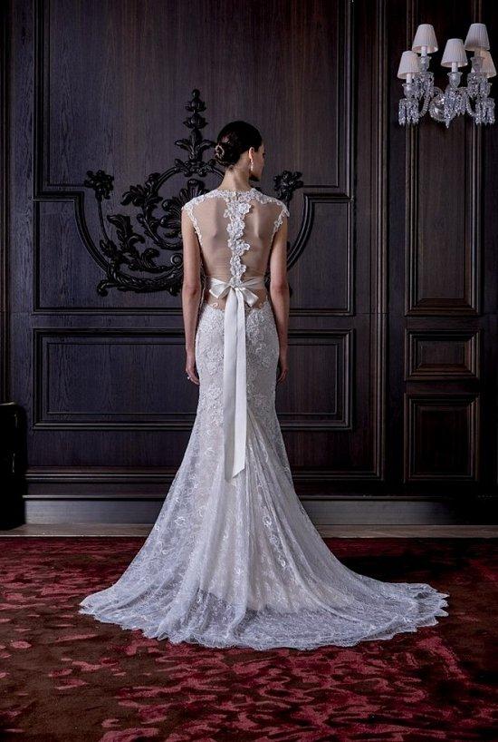 Свадебные платья Monique Lhuillier весна 2016 фото №18