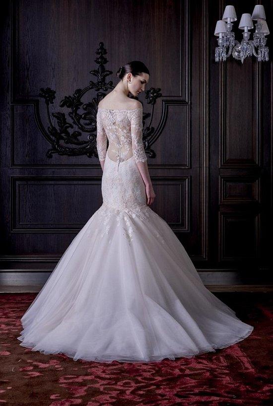 Свадебные платья Monique Lhuillier весна 2016 фото №20