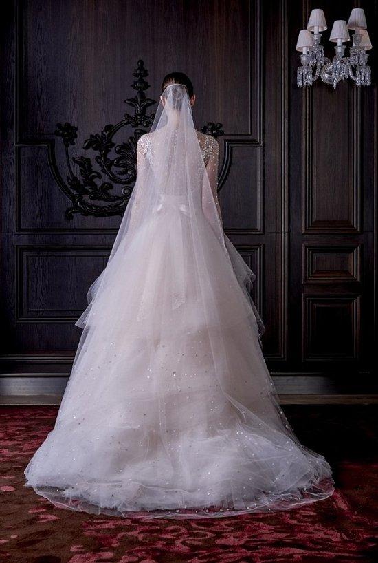 Свадебные платья Monique Lhuillier весна 2016 фото №24