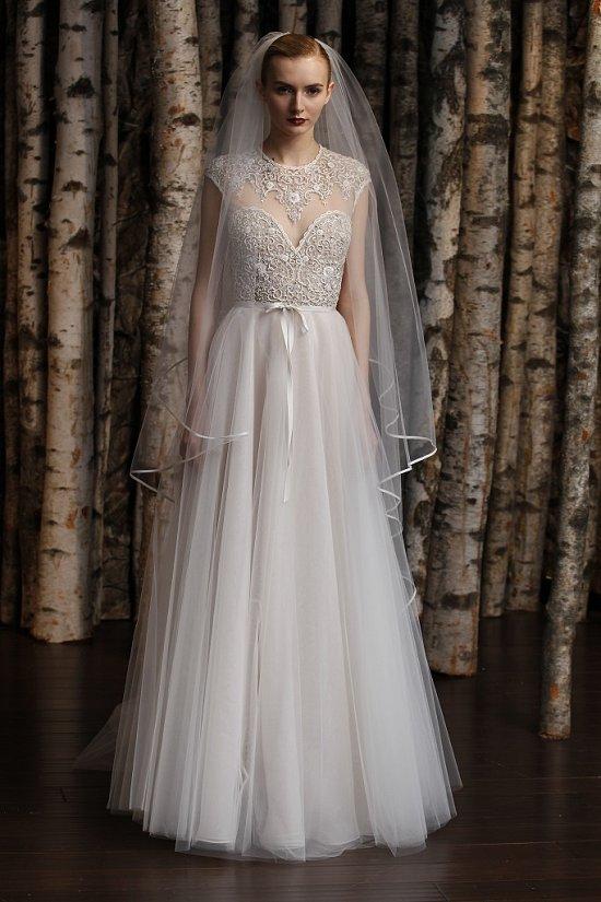 Свадебные платья Naeem Khan весна-лето 2015 фото №20
