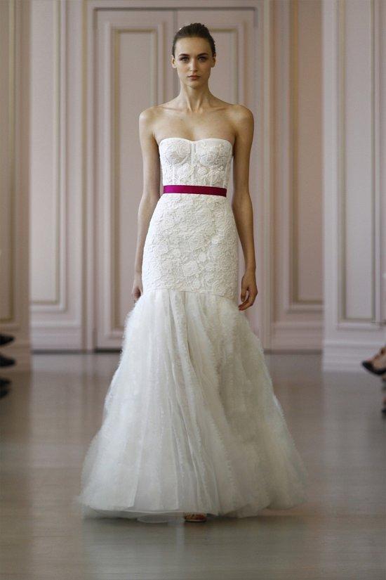 Свадебные платья Oscar de la Renta весна 2016 фото №1