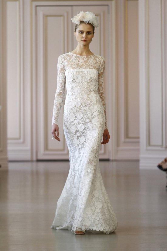 Свадебные платья Oscar de la Renta весна 2016 фото №2