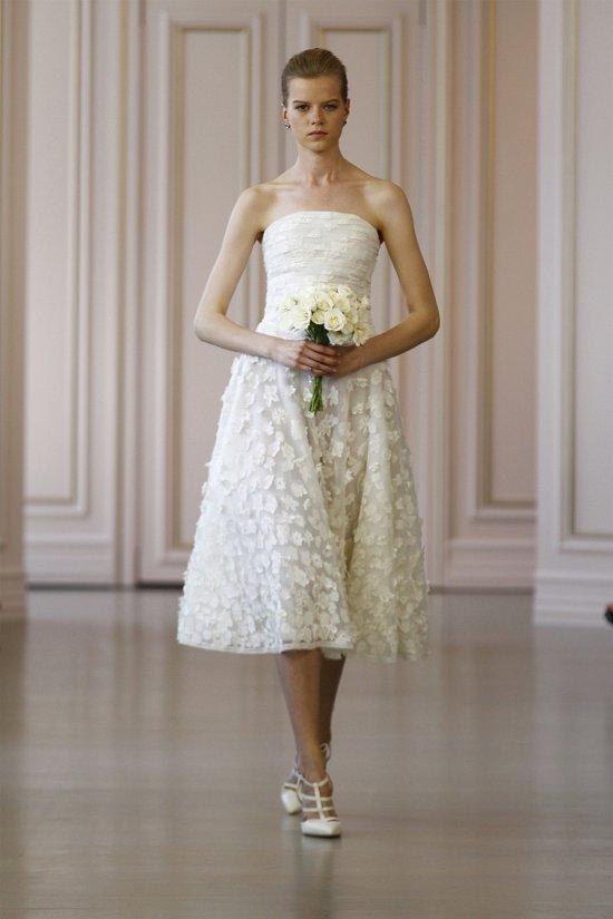 Свадебные платья Oscar de la Renta весна 2016 фото №3