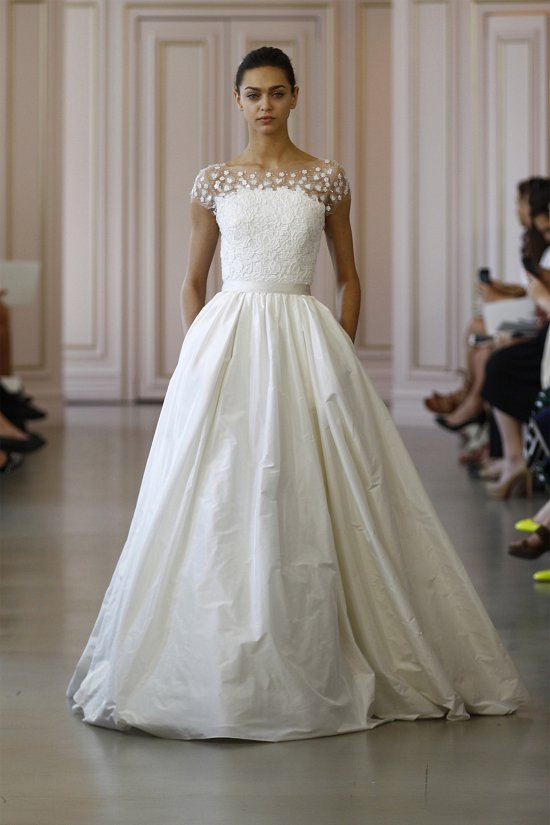 Свадебные платья Oscar de la Renta весна 2016