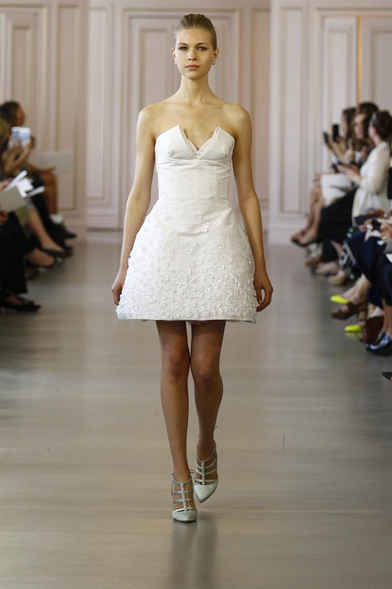 Свадебные платья Oscar de la Renta весна 2016 фото №6