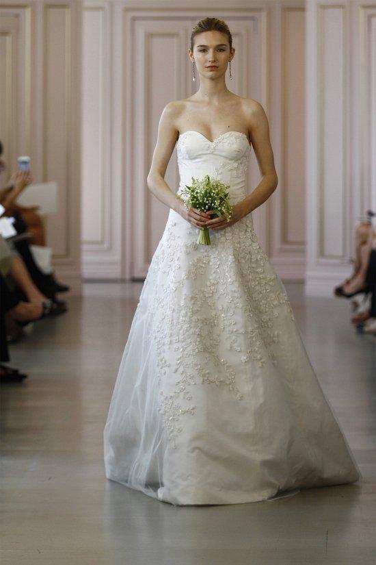 Свадебные платья Oscar de la Renta весна 2016 фото №7