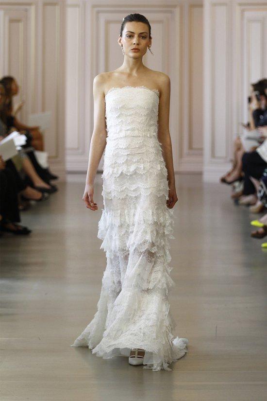 Свадебные платья Oscar de la Renta весна 2016 фото №8