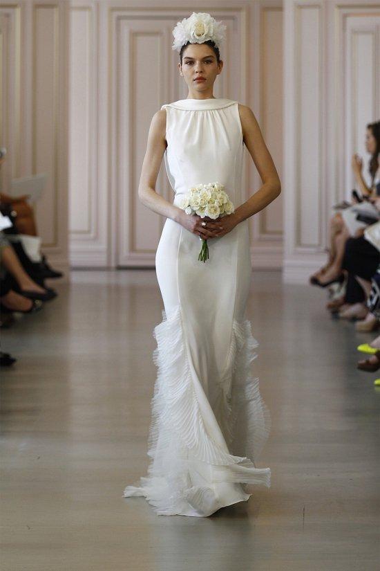 Свадебные платья Oscar de la Renta весна 2016 фото №9