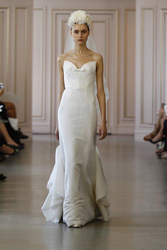 Свадебные платья Oscar de la Renta весна 2016 фото №10
