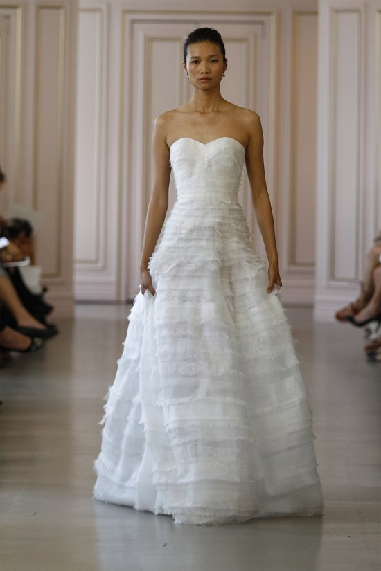 Свадебные платья Oscar de la Renta весна 2016 фото №11