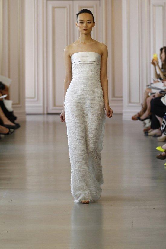 Свадебные платья Oscar de la Renta весна 2016 фото №12