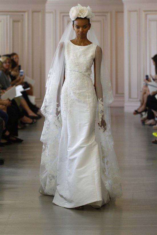 Свадебные платья Oscar de la Renta весна 2016 фото №13