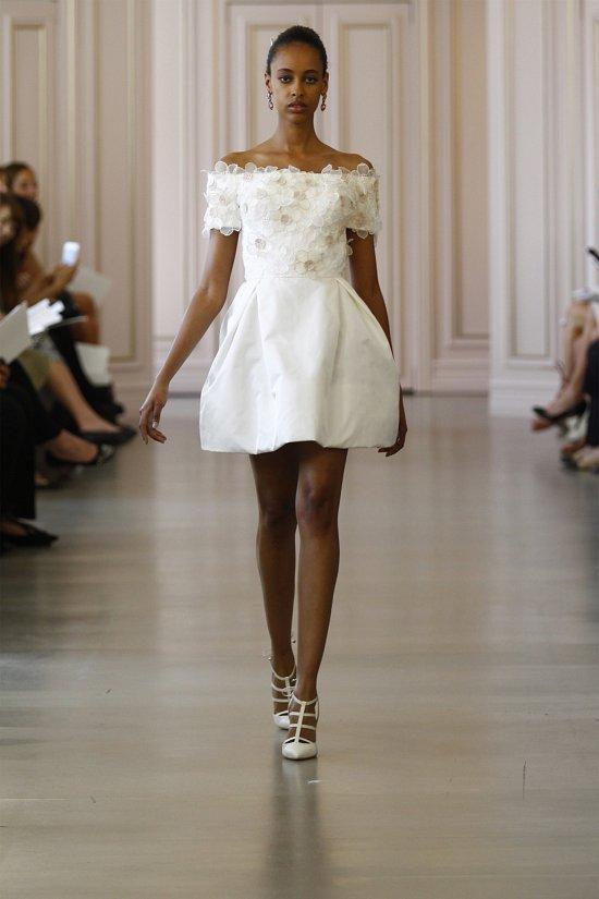 Свадебные платья Oscar de la Renta весна 2016 фото №14