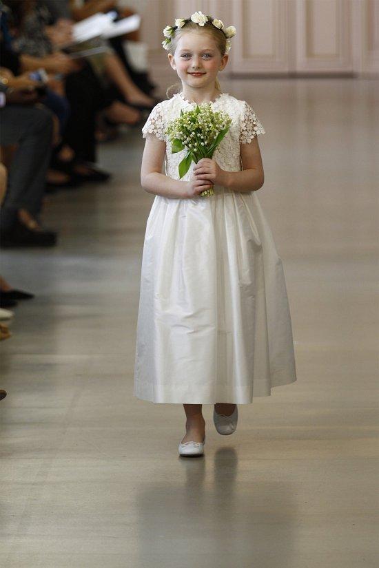 Свадебные платья Oscar de la Renta весна 2016 фото №15