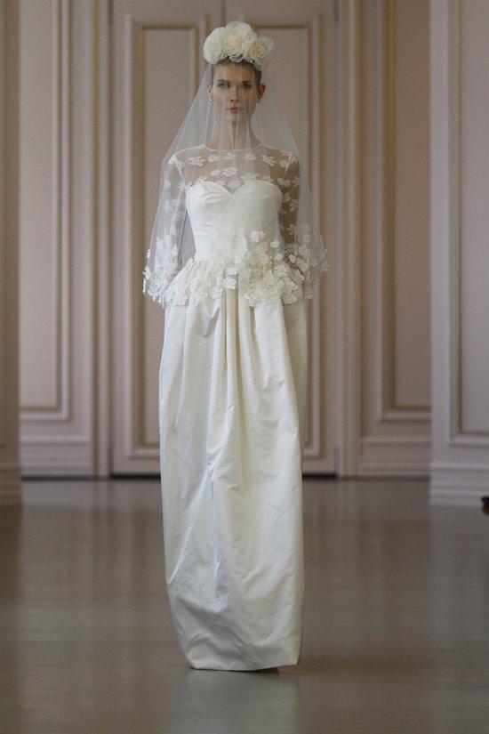 Свадебные платья Oscar de la Renta весна 2016 фото №16