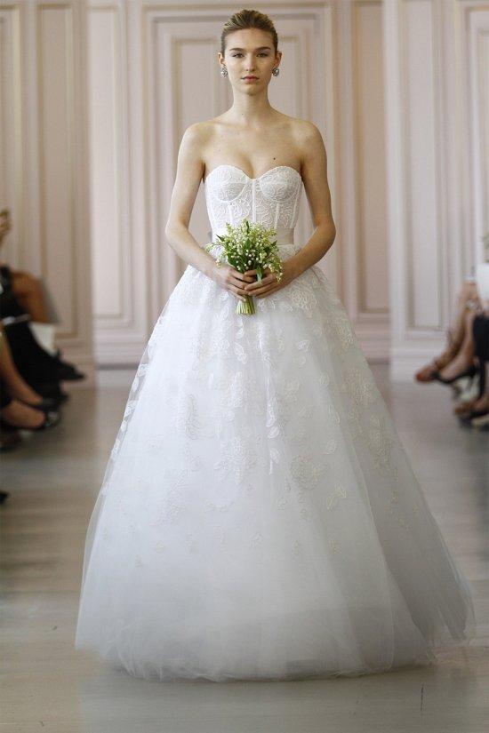 Свадебные платья Oscar de la Renta весна 2016 фото №20